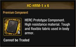 Herc-high material