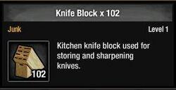 Knife Block