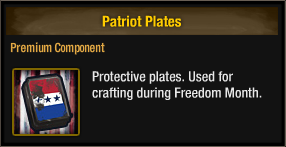 Patriot Plates