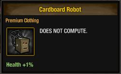 Tlsdz Cardboard Robot