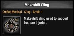 Makeshift Sling