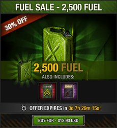 Tlsdz august-september 2015 fuel sale 2500 fuel