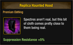 Tlsdz replica haunted hood
