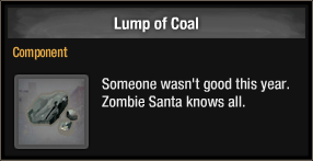 Lump of Coal 2018