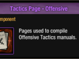 Tactics Page - Offensive