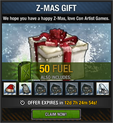 Z-Mas Gift package