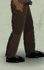 Tlsuc pants - brown worn