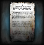 A Message From The Foundation
