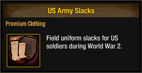 US Army Slacks