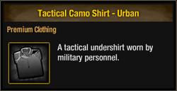 Tactical Camo Shirt - Urban