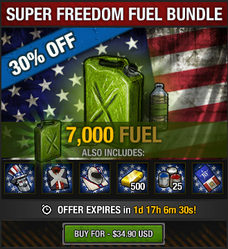 Super Freedom Fuel Bundle