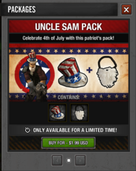 Uncle Sam Package