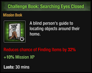Searching Eyes Closed
