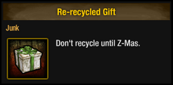 Re-recycled Gift