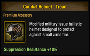 Combat Helmet - Tread