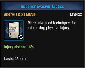 Superior Evasive Tactics