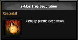 Tlsdz z-mas tree decoration 2014