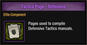 Tactics Page - Defensive