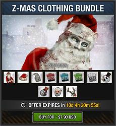 Z-Mas Clothing Bundle 2018