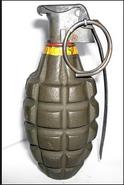 Grenade pineapple