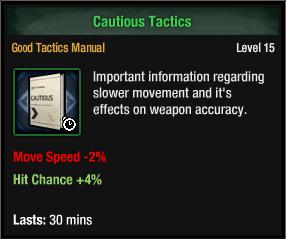 Cautious Tactics