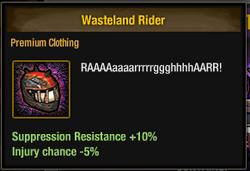 Tlsdz wasteland rider