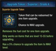Upgrade Token - Superior - Grade 4