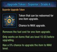 Upgrade Token - Superior - Grade 4