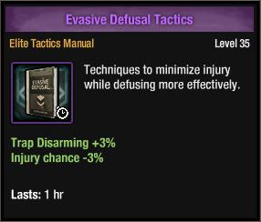 Evasive Defusal Tactics