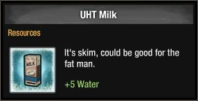 UHT Milk 2018