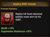 HUNT Helmet