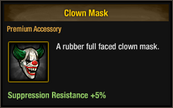 Tlsdz clown mask