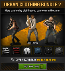 Urban Clothing Bundle 2