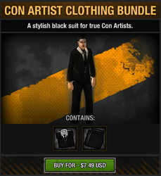 Con Artist Clothing Bundle