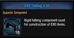 Exo tube