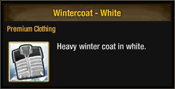 Wintercoat - White