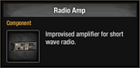 Radio amp