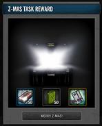Tlsdz z-mas task reward box opened