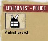 Kevlarvestpolice