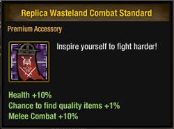 Replica Wasteland Combat Standard