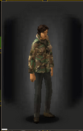 Camo Shirt - Woodland equipped female