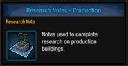 Research note production