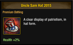 Tlsdz uncle sam hat 2015
