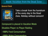 Vacation from the Dead Zone