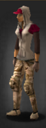 Desert pants survivor