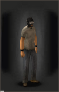 Tactical Ski-Mask equipped male