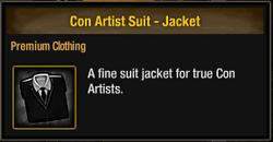Con Artist Suit - Jacket