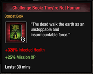 Challenge Book They're Not Human