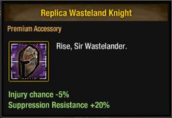 Replica Wasteland Knight