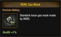 HERC Gas Mask